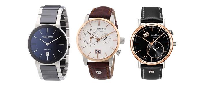 Preisgünstige Uhrenmarken Für Herren bruno söhnle