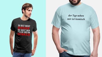 männermode fehler tshirt